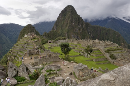 De Verloren Stad van de Inca's, Machu Picchu, Cusco Gewest, Peru