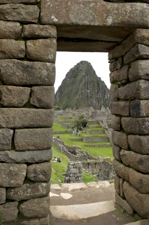 The Lost City of The Incas, Machu Picchu, Cusco Region, Peru photo