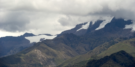 tranquilly: Mountain range in Sacred Valley, Cusco Region, Peru