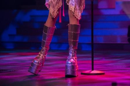 finalistin: Live-Performance von Siobhan Magnus von American Idol Finalist bei Andy Williams Moon River Theater, Branson, Taney County, Missouri, USA