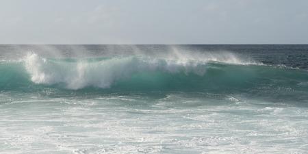 north shore: Wave on the beach, Haleiwa, North Shore, Oahu, Hawaii, USA