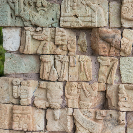 archaeological site: Mayan ruins at an archaeological site, Copan, Copan Ruinas, Honduras