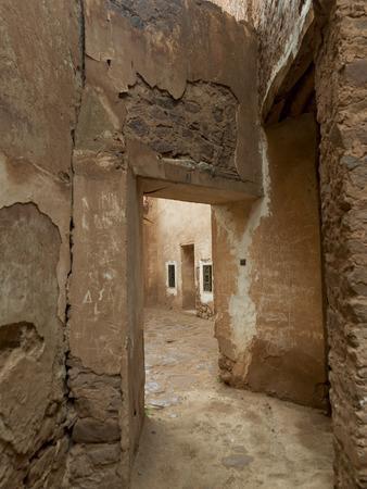 Innenansicht der Ruine Kasbah Telouet, Ouarzazate, Marokko Standard-Bild - 28205138