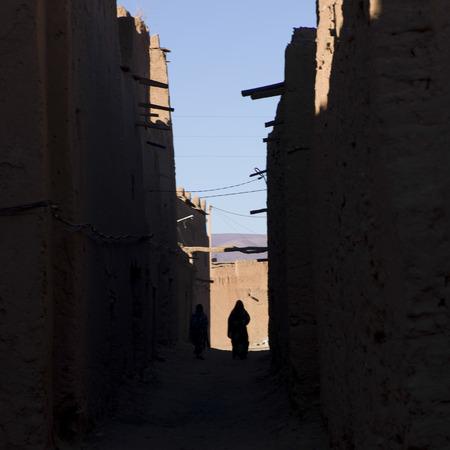 Kasbah Azul in Agdz, Marokko Standard-Bild - 28205241