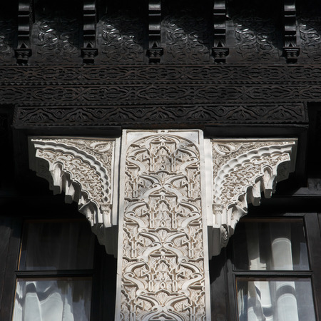 sultana: Traditional architecture detail of the La Sultana Hotel, Marrakesh, Morocco