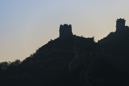 Juyongguan pass section of the Great Wall of China, Changping District, Beijing, China photo