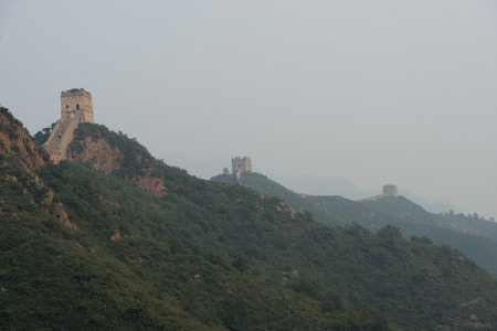 simatai: Jinshanling to Simatai section of Great Wall Of China, Miyun County, Beijing, China