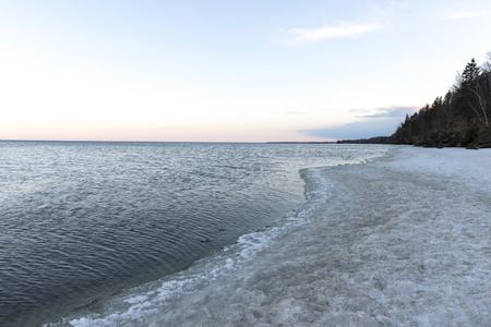 lake winnipeg: Lake Winnipeg Shoreline, Riverton, Hecla Grindstone Provincial Park, Manitoba, Canada