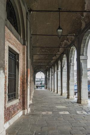 nuove: Portico of Fabbriche Nuove, Venice, Veneto, Italy