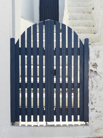 entranceway: Entrance gate of house, Thessalia Sterea Ellada, Skopelos, Greece