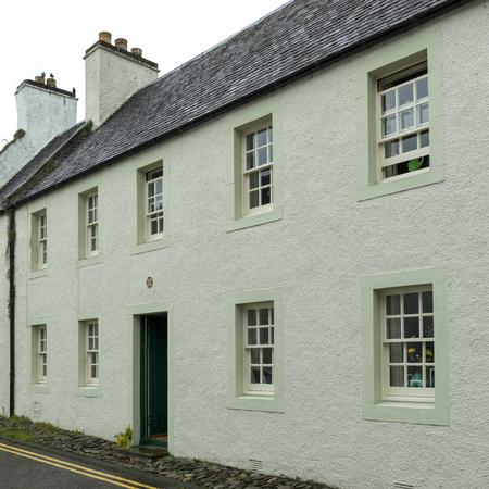 entranceway: House along street, Dunkeld, Perth and Kinross, Scotland