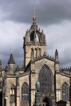 giles: Crown steeple of St Giles Cathedral, Edinburgh, Scotland