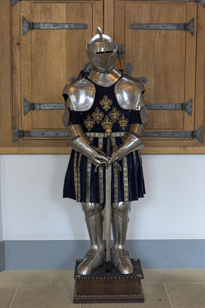 Suit of armor at Stirling Castle, Stirling, Scotland