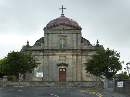 keith: Facade of the St Thomas Roman Catholic Church, Keith, Moray, Scotland Stock Photo