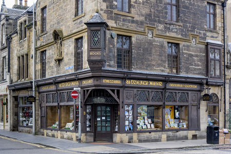 entranceway: View of the Lodge St Andrew No 25, St Andrews, Fife, Scotland Editorial