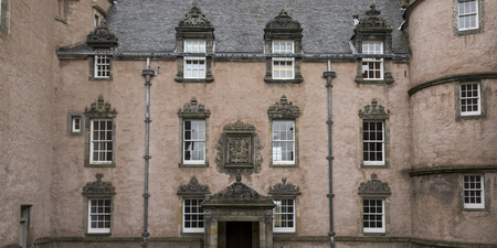entranceway: Architectural detail of a building, Stirling, Scotland