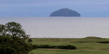golfcourse: Golf course along coast, Turnberry, South Ayrshire, Scotland