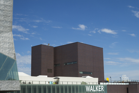 lowry: Walker Art Center in Minneapolis, Hennepin County, Minnesota, USA Editorial
