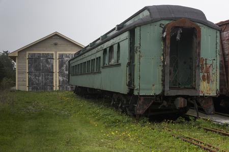 Sydney und Louisburg Railway Museum, Louisbourg, Kap-Breton-Insel, Neuschottland, Kanada
