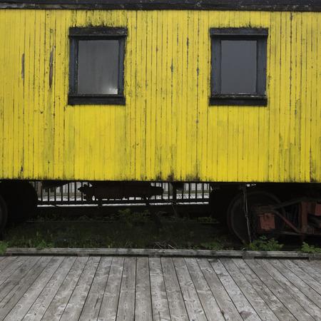 Sydney und Louisburg Eisenbahn Louisbourg, Kap-Breton-Insel, Neuschottland, Kanada