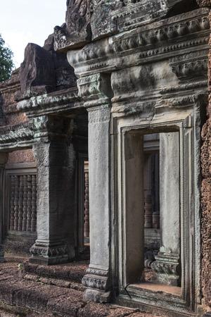 Hindu temple in Angkor Wat style, Banteay Samre, Siem Reap, Cambodia