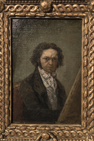 Self portrait by Francisco Goya, Israel Museum, Jerusalem, Israel