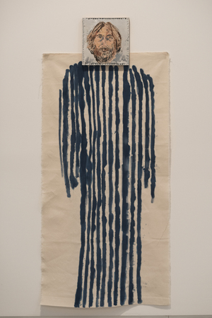 Coat of Many Colors by Michael Sgan-Cohen, Behold the Man - Jesus in Israeli art, Israel Museum, Jerusalem, Israel