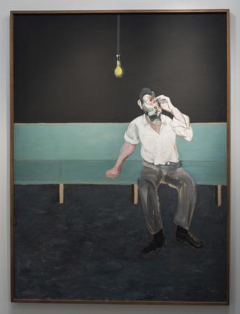 Studie für das Porträt von Lucien Freud von Francis Bacon, Israel Museum, Jerusalem, Israel