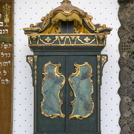 Torah ark in the Great Synagogue, Dohany Street, Budapest, Hungary