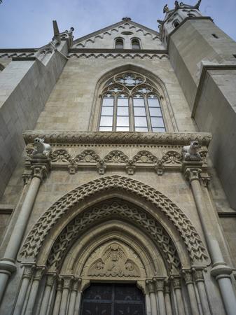 Matthias Church, Buda's Castle District, Budapest, Hungary Фото со стока