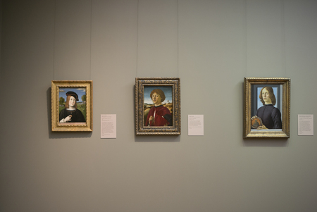Paintings in Metropolitan Museum of Art, New York City, New York State, USA