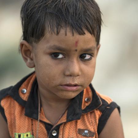 Portrait of a boy, Jaisalmer, Rajasthan, India