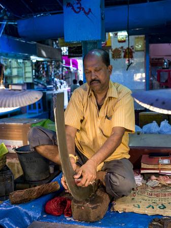 Naskar Fish Stall, Maniktala , Kolkata, West Bengal, India Editorial