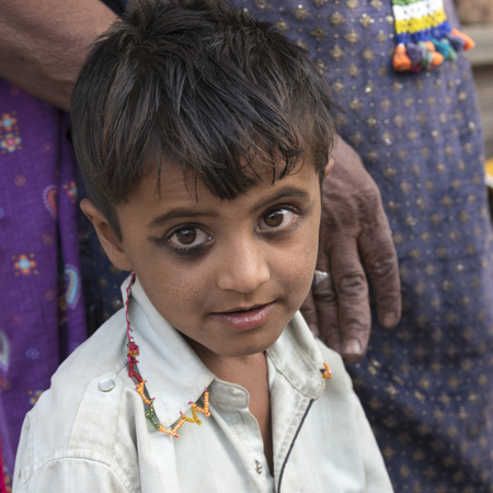 Portrait of a boy, Jaisalmer, Rajasthan, India