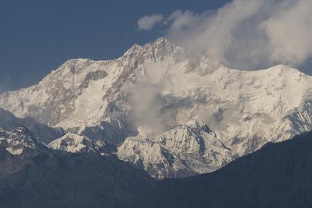 Scenic view of Singalila Range, Great Himalaya Range, Sikkim, India