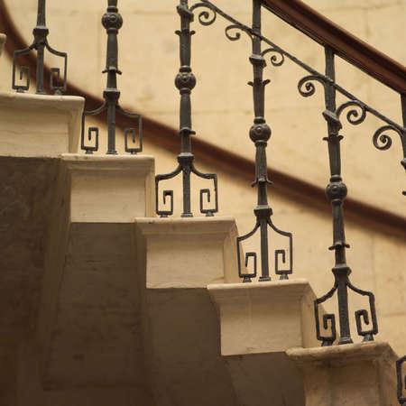 banisters: Dublin, Ireland - City Hall Stock Photo