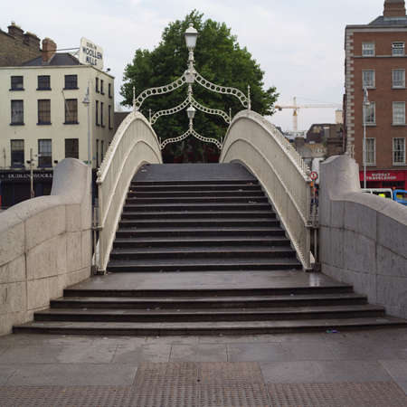 ironworks: Dublin, Ireland - Hapenny Bridge
