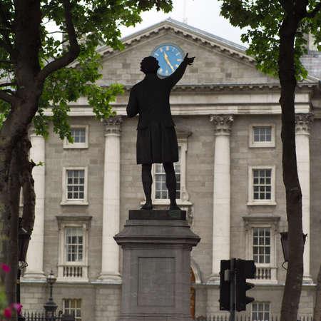 Dublin, Ireland - Trinity College Stock Photo - 179090