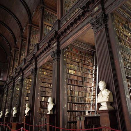 busts: Dublin, Ireland - Trinity College