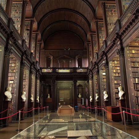 Dublin, Ireland - Trinity College Stock Photo - 179114