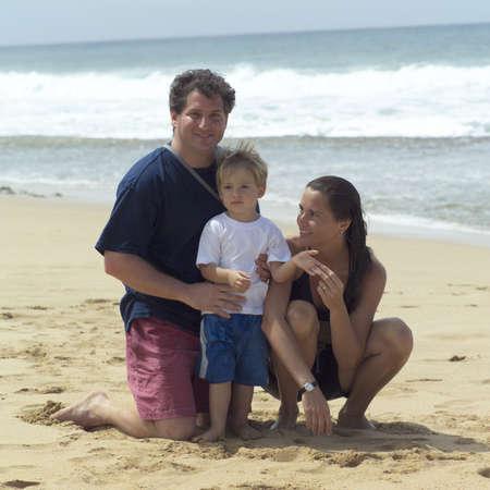 Family Vacation - Hawaiian Islands of Molokai and Kauai Stock Photo - 179176