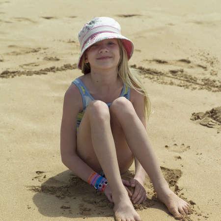 bare girl: Family Vacation - Hawaiian Islands of Molokai and Kauai Stock Photo