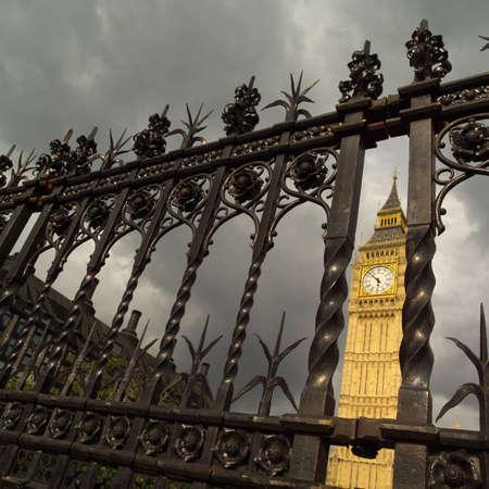 getaways: Ben grande - casas del parlamento, Londres Inglaterra Foto de archivo