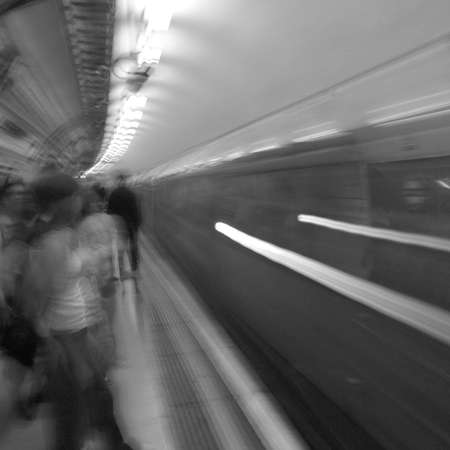 distinction: London - Underground Stock Photo