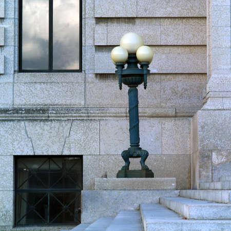 ironworks: Photographs of Winnipeg Architecture Stock Photo