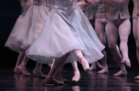 live performance: Ballet - Live Performance Stock Photo