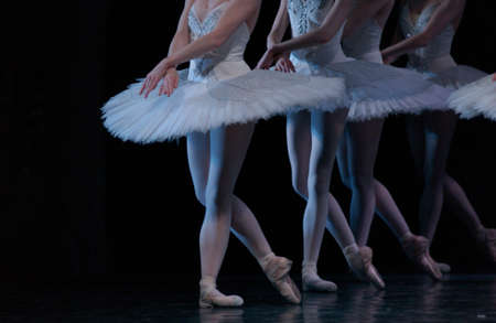 live performance: Ballet - Live Performance Stock Photo