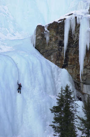 Lake Louise - Ice  Rock Climbing photo