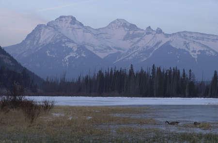 treacherous: Vermillion Lake, Alberta, Canada