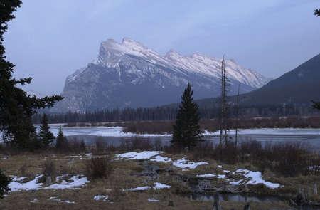swampland: Vermillion Lake, Alberta, Canada